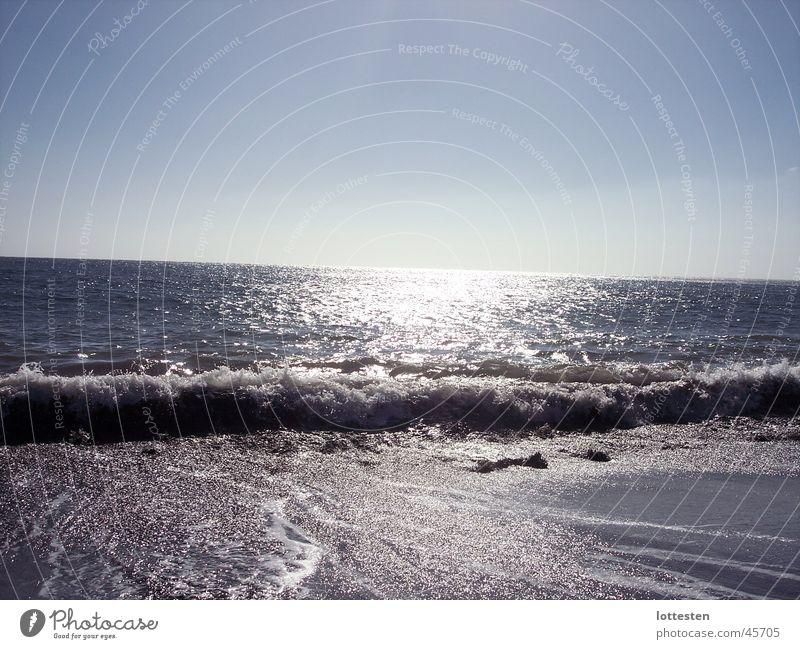 Gomera Strand Wellen