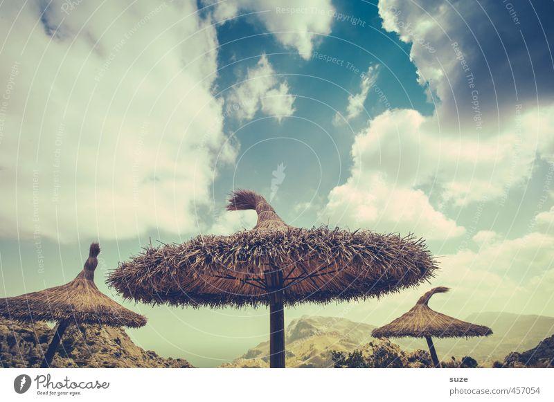 Hütchenspiel Ferien & Urlaub & Reisen Sightseeing Sommer Meer Berge u. Gebirge Umwelt Natur Landschaft Himmel Wolken Schönes Wetter Küste Fernweh Mallorca