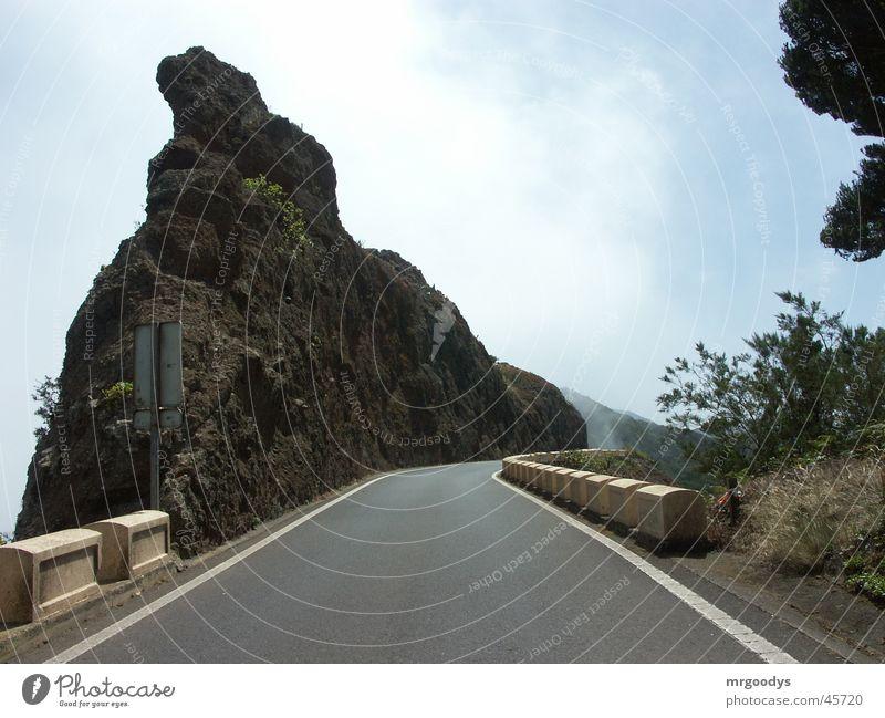 Bergspitz Natur Ferien & Urlaub & Reisen Straße Berge u. Gebirge Spitze Gipfel