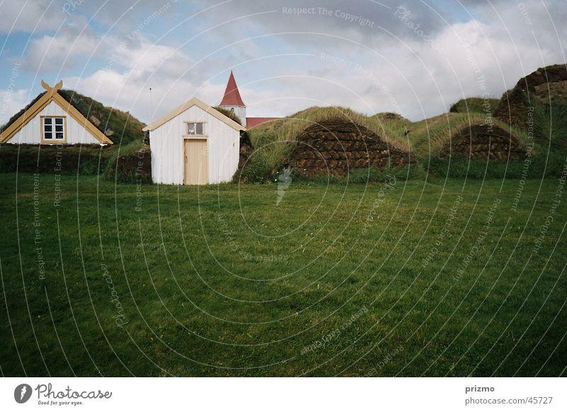 Hobbitwohnungen Ferien & Urlaub & Reisen Architektur Kultur Bauernhof Island Tradition Torf Freilichtmuseum Glaumbaer