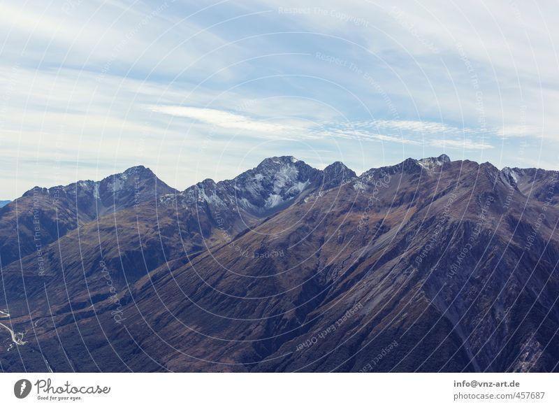 Up Licht Außenaufnahme Landschaft Berge u. Gebirge Hügel Natur Aussicht Himmel Wolken Feld Ferne Freude Freiheit Stimmung Farbfoto Menschenleer Freiraum