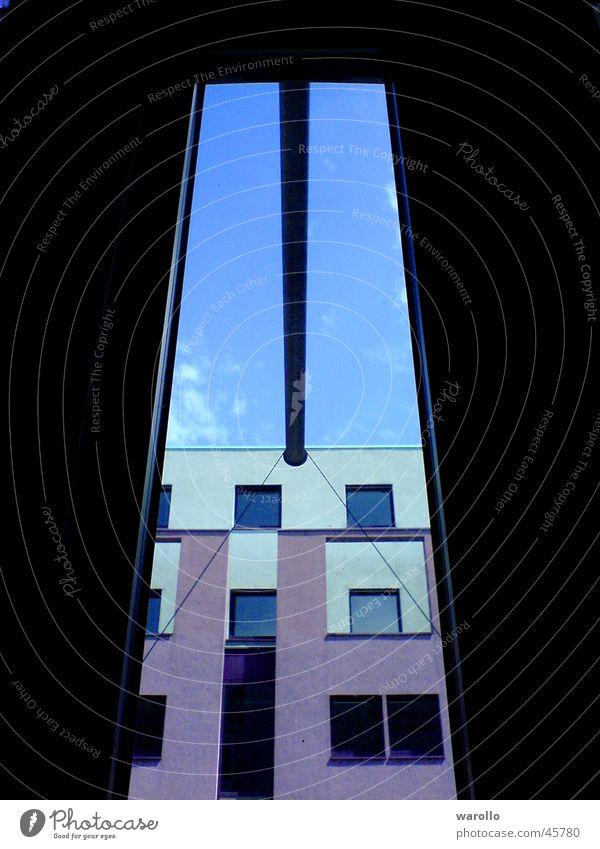 Fester zum Hannover Himmel Haus Fenster Architektur Geometrie