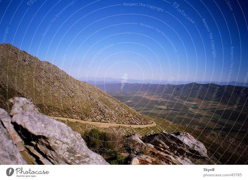 Swartberg Pass Berge u. Gebirge Südafrika