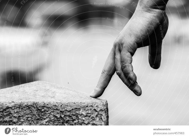 Fingerballet schön Hand Spielen Stein gehen Tanzen ästhetisch Finger Punkt Falte nah Stress bewegungslos Stillleben Schweben Balletttänzer