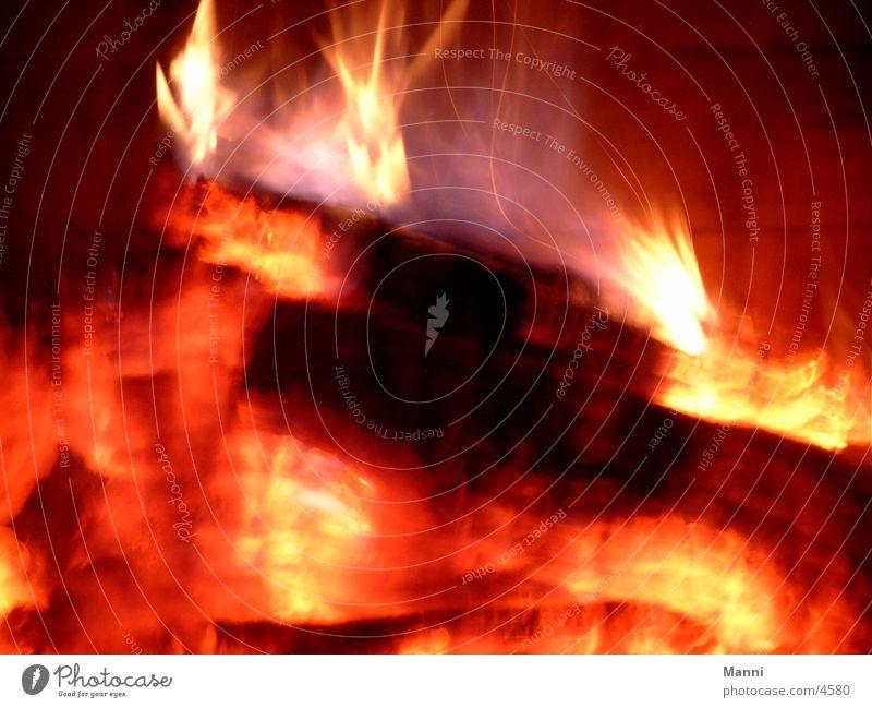 Feuer Brand Fototechnik