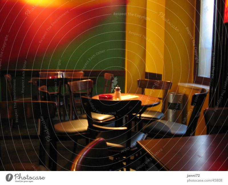Color Pub Bar Restaurant Club Stil color Tisch Stuhl Farbe