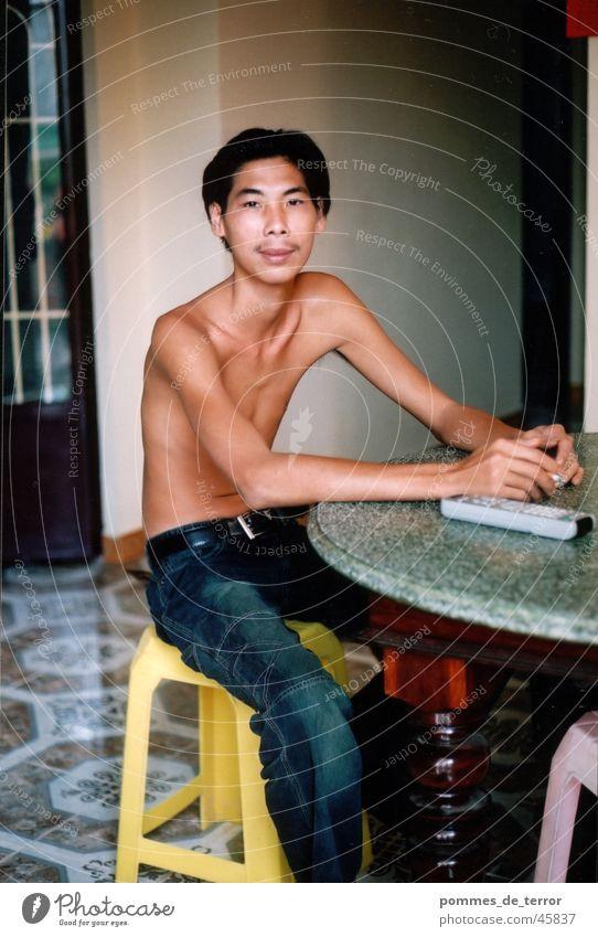tan Mann Jugendliche Arbeit & Erwerbstätigkeit Armut Asien dünn Vietnam
