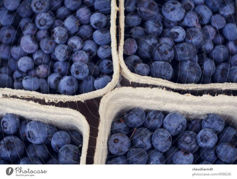 Blaubeer-Quartett Lebensmittel Frucht Blaubeeren Beeren Ernährung Bioprodukte Vegetarische Ernährung Schalen & Schüsseln Essen frisch Gesundheit lecker blau