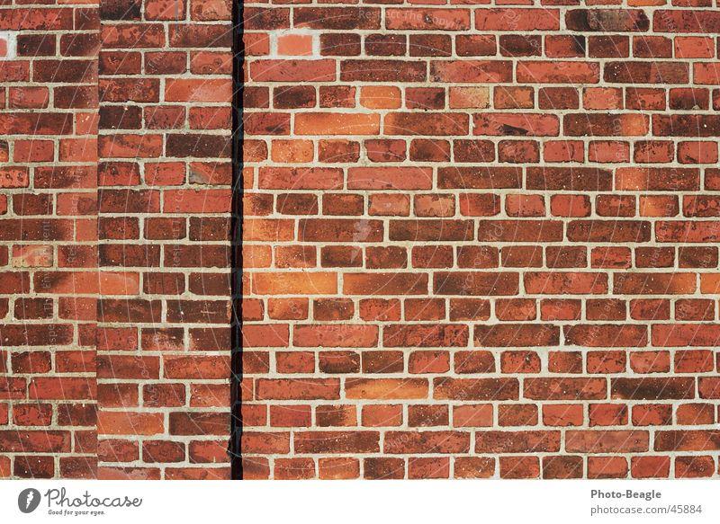 Ziegel 2-4 Wand Stein Mauer Hintergrundbild Backstein