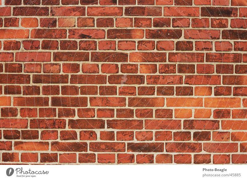 Ziegel 1-4 Mauer Backstein Wand Hintergrundbild Strukturen & Formen Stein wallpaper brick bricks red brick red-brick Backsteinwand