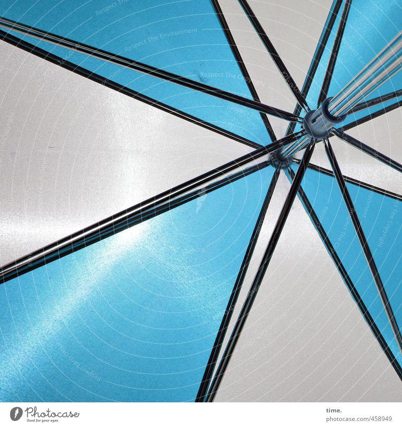 LSF blauweiß Ferien & Urlaub & Reisen Tourismus Sommerurlaub Sonnenschirm Design Erholung Lebensfreude Schutz Dienstleistungsgewerbe Sicherheit planen träumen