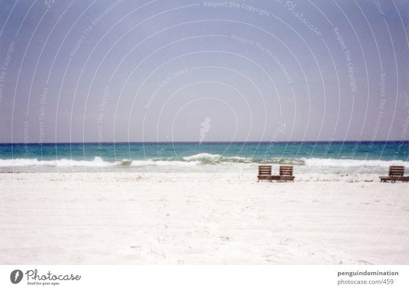 Allein in Florida Strand