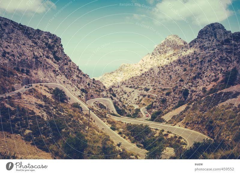 14 km Fahrspaß Ferien & Urlaub & Reisen Berge u. Gebirge Natur Landschaft Erde Küste Bucht Meer Sehenswürdigkeit Verkehrswege Autofahren Straße Wege & Pfade