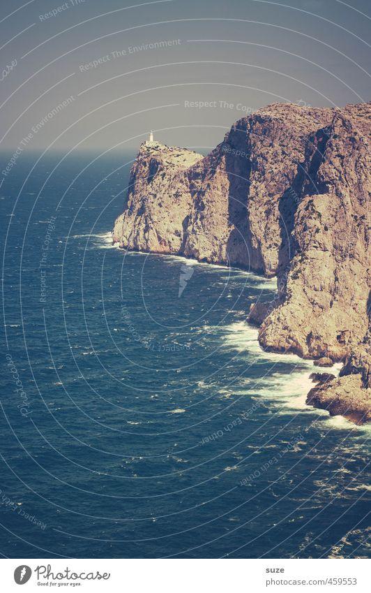 Vorschau Ferien & Urlaub & Reisen Umwelt Natur Landschaft Urelemente Erde Wasser Himmel Horizont Wetter Felsen Berge u. Gebirge Küste Meer Insel Leuchtturm