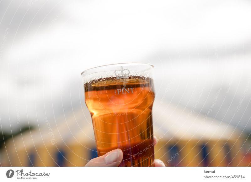 Half Pint Lifestyle Getränk Finger Bier lecker Alkohol England Daumen Zelt Becher Plastikbecher