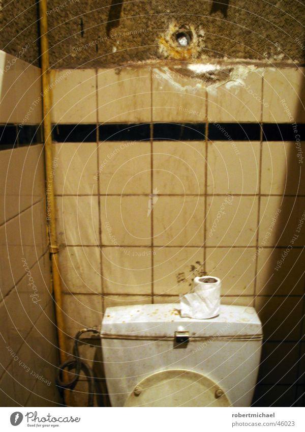scheiss haus! Wasser Haus Wand Luft dreckig Papier Reinigen Bad Müll Kot Fliesen u. Kacheln Toilette Statue Sitzgelegenheit Geruch schlecht