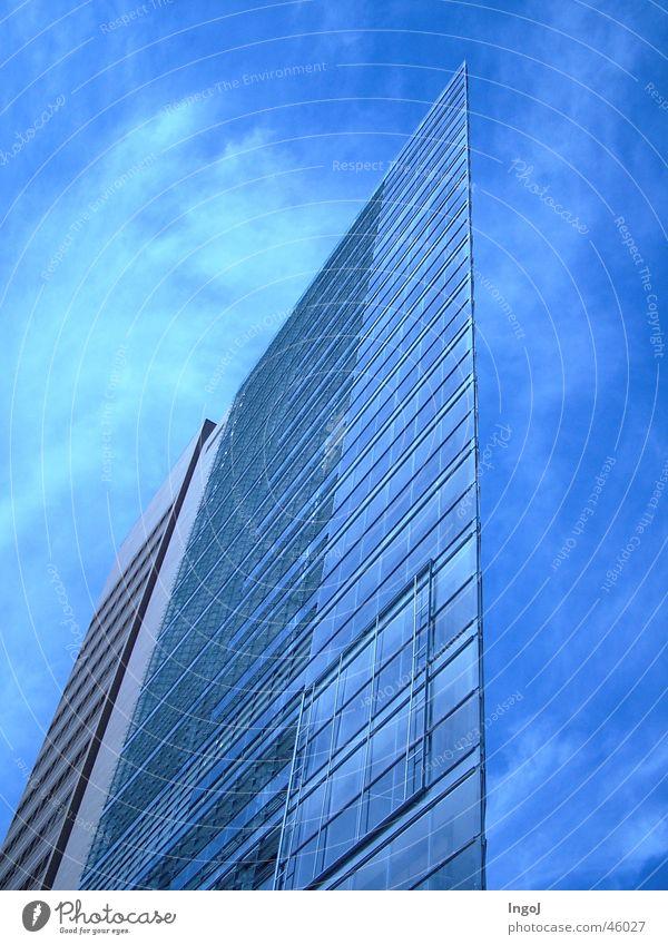 Glas-Segel Haus Berlin Fenster Glas Segel Potsdamer Platz