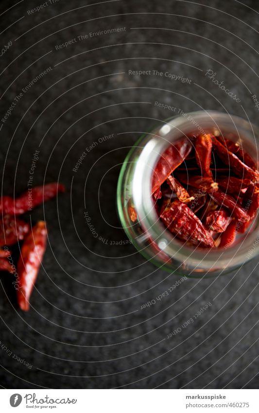 Chili / Pepperoni Innenarchitektur Lebensmittel Wohnung Glas Dekoration & Verzierung Ernährung Tisch genießen Scharfer Geschmack Kräuter & Gewürze Gemüse Duft