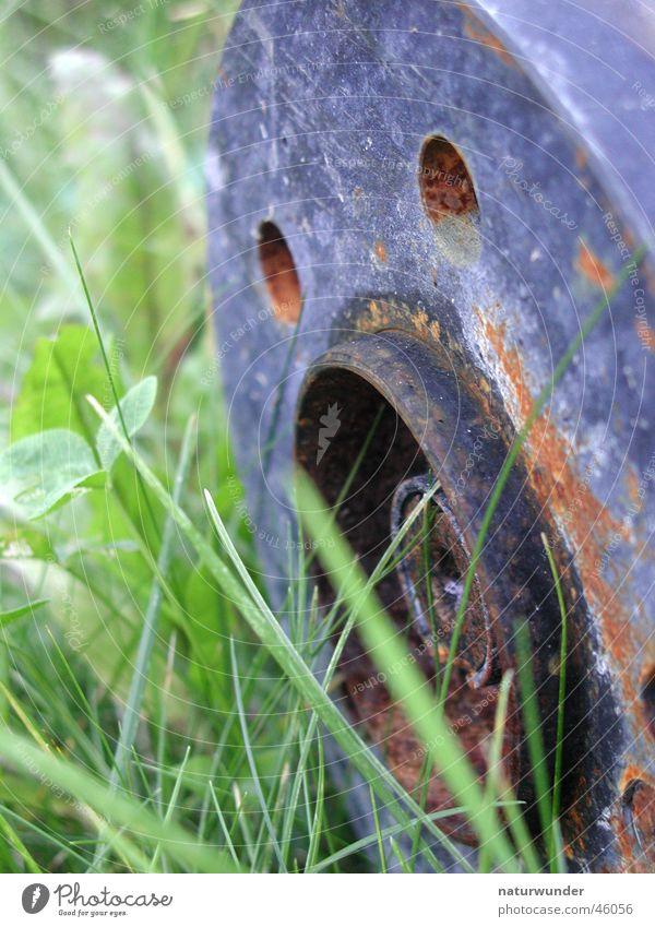 Rost Eisen gras bremsscheibe