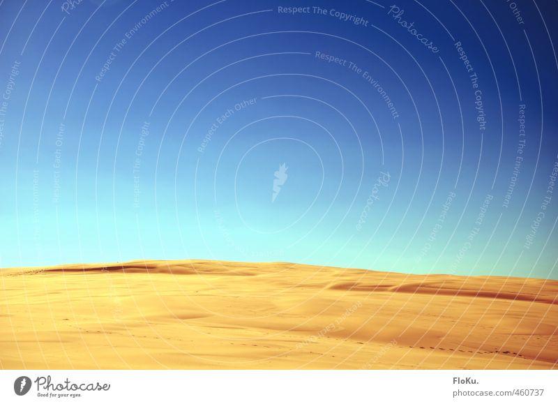Tatooine Ferien & Urlaub & Reisen Ausflug Abenteuer Ferne Expedition Sommerurlaub Sonne Umwelt Natur Landschaft Erde Sand Himmel Wolkenloser Himmel Klima