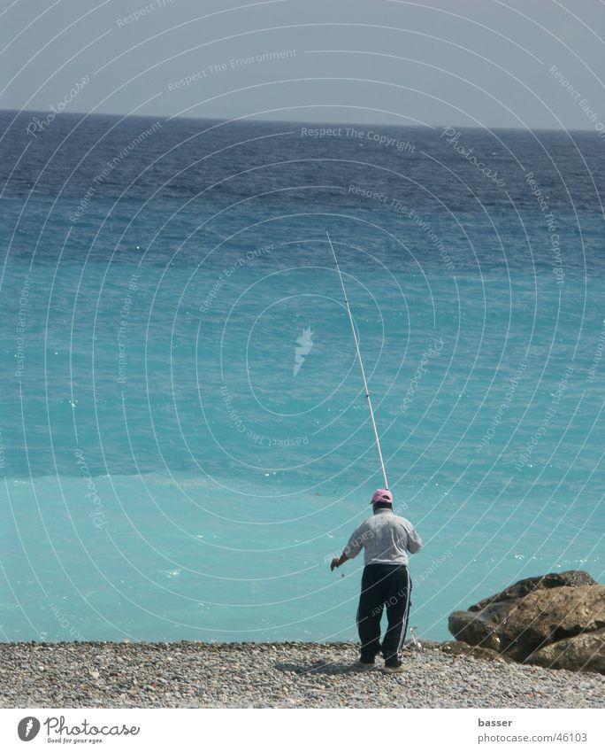 Fischer am Meer Wasser Meer Fischer
