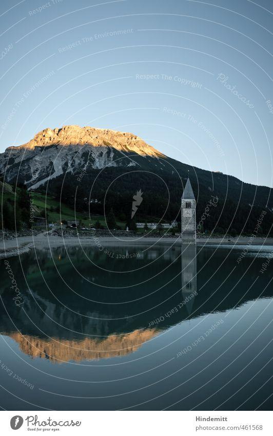 St. Katharina (3) Ferien & Urlaub & Reisen blau Wasser Sommer Wald Berge u. Gebirge grau Schwimmen & Baden See außergewöhnlich Felsen Luft orange Erde stehen