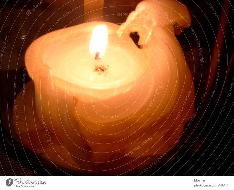 Kerze Dinge Brennende Kerze