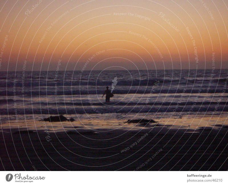 Surfing USA Meer Strand Wärme Sand Wellen Physik Surfen Surfer Pazifik