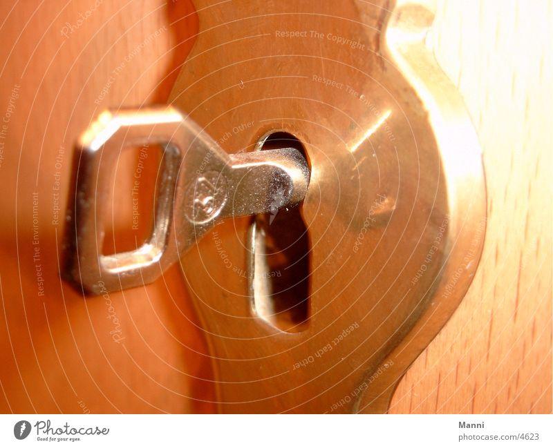 Schlüssel Dinge Tür