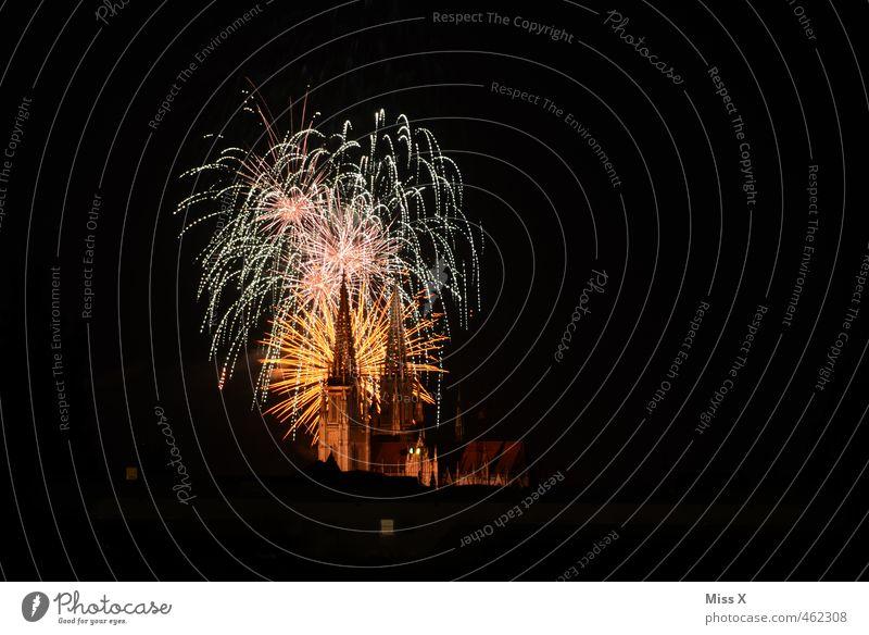 Dult 2013 Stadt Feste & Feiern Party glänzend groß leuchten hoch Kirche Silvester u. Neujahr Veranstaltung Jahrmarkt Wahrzeichen Feuerwerk Sehenswürdigkeit Dom