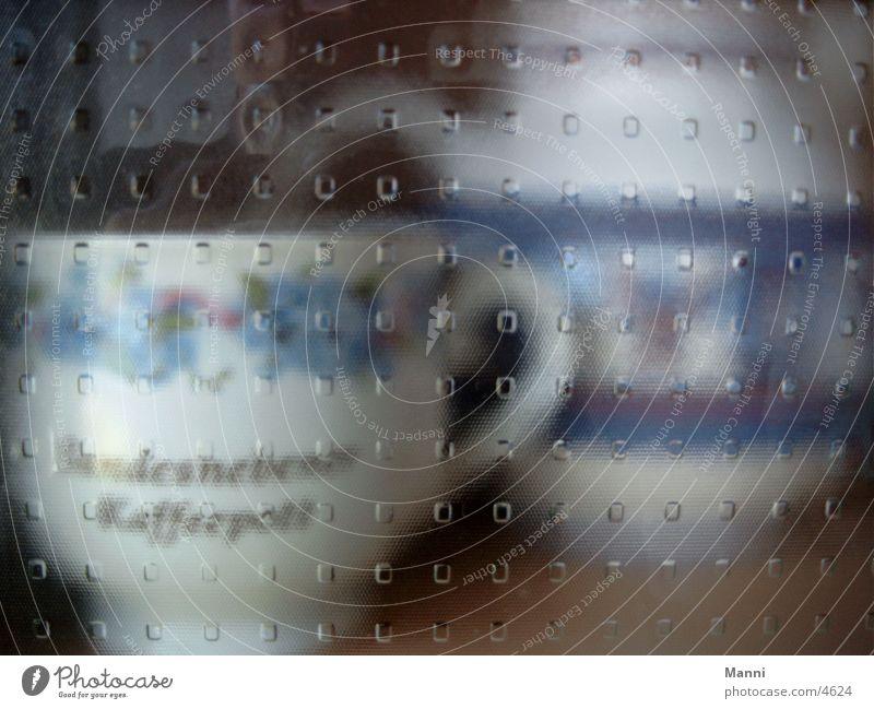 Tasse hinter Glas Glas Küche Dinge Tasse