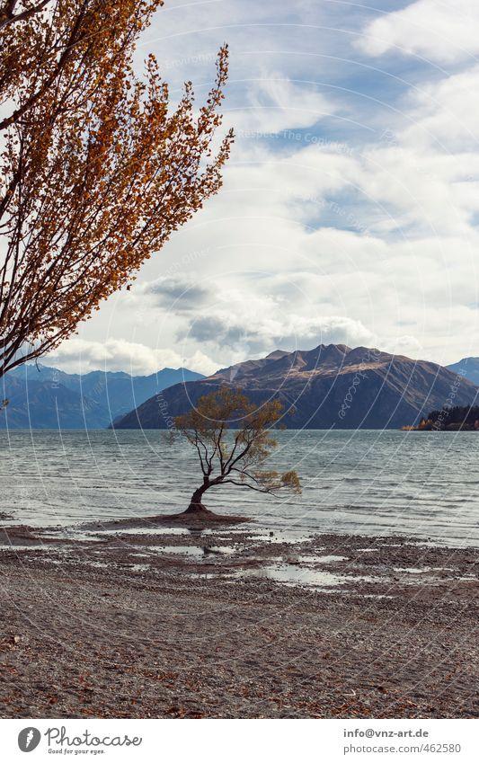 mit Aussicht Umwelt Natur Landschaft Wasser Himmel Wolken Sonnenlicht Herbst Klima Wetter Wind Pflanze Baum Park Hügel Felsen Alpen Berge u. Gebirge Gipfel