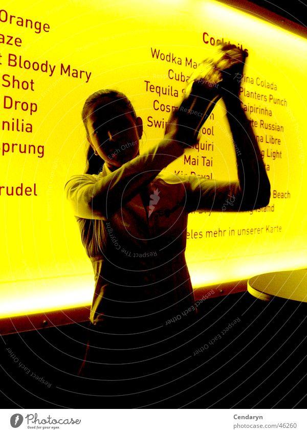 Shake it Baby Bar Cocktail Frau shake