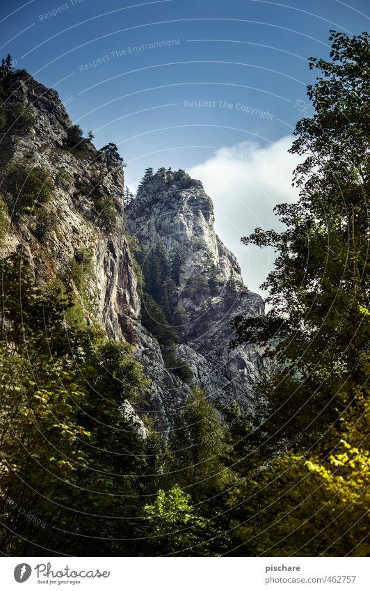 Berg Natur Landschaft Berge u. Gebirge natürlich Felsen Abenteuer Gipfel