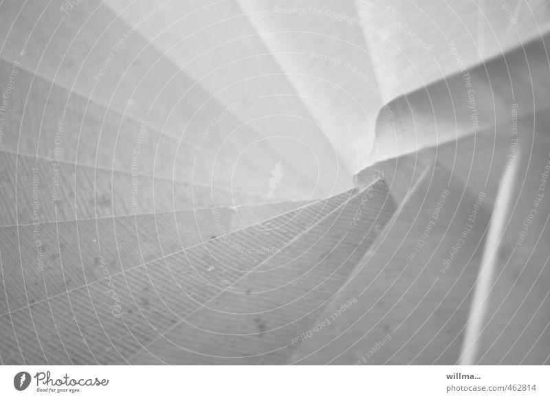 graustufen   sw-grau - thementag Architektur Treppe Steintreppe Wendeltreppe abwärts Schwarzweißfoto Innenaufnahme Menschenleer Vogelperspektive