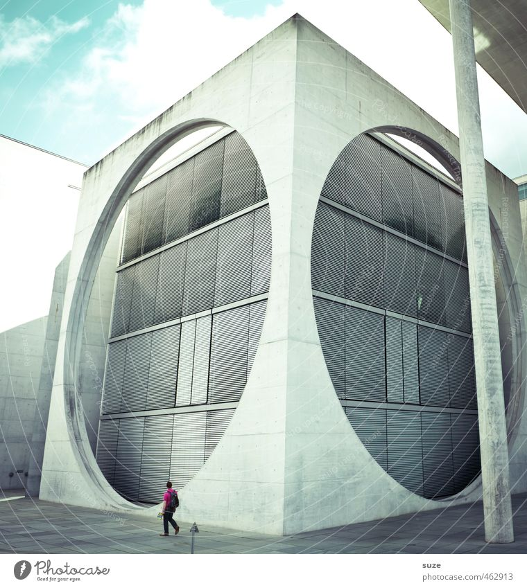 Wahlomat Mensch Himmel Wolken Umwelt Architektur Gebäude grau Berlin klein Stein Deutschland Wetter groß Tourismus modern Europa