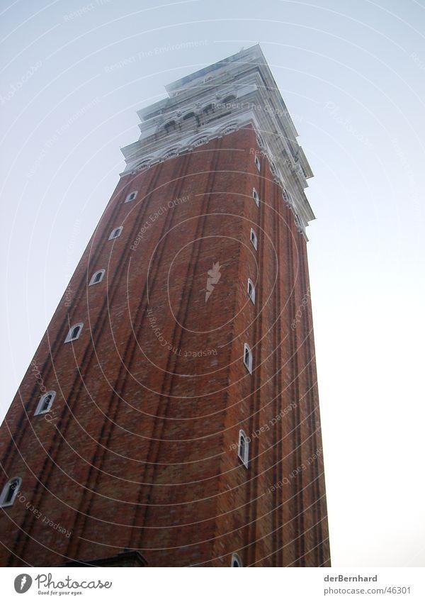Markusturm Venedig Italien Campanile San Marco Kunst Markusplatz Ferien & Urlaub & Reisen Gebäude Fahrstuhl Turm Sehenswürdigkeit