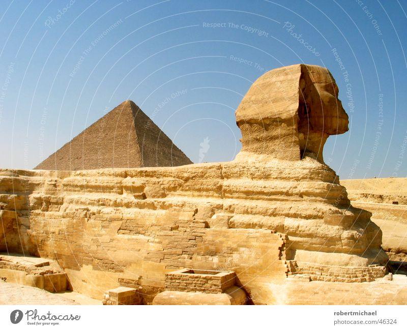 schwere last Ägypten Ferien & Urlaub & Reisen Gizeh Cheops Pyramide Bauwerk Kairo Dreieck heiß Physik Afrika Asien Pharaonen Statue Ramses des II. Grab Dieb