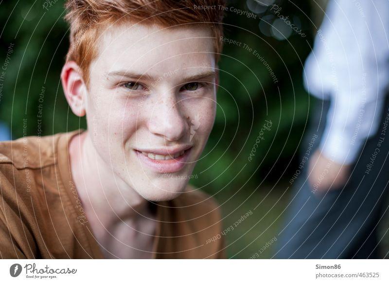 Red Hair Mensch Kind Natur Jugendliche schön Sommer Freude Junger Mann Gefühle lachen Glück maskulin Freizeit & Hobby Zufriedenheit Lifestyle Schönes Wetter