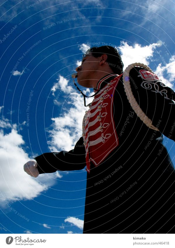 5 de Febrero Fest Himmel Mann Wolken Musiker Mexiko