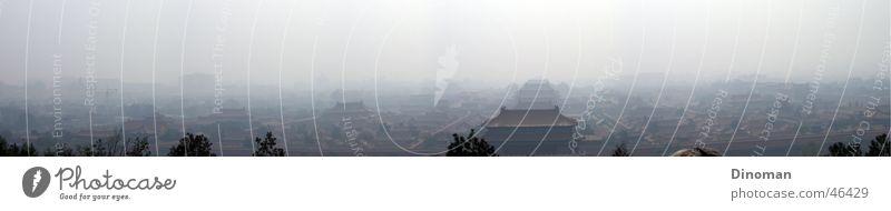 Verbotene Stadt Peking Panorama groß China König Panorama (Bildformat) Tempel Palast