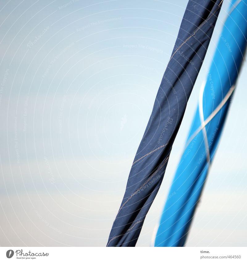 Reservisten Schifffahrt Segelschiff maritim sportlich kalt nah trocken blau Partnerschaft Entschlossenheit geheimnisvoll Genauigkeit Zufriedenheit Konzentration