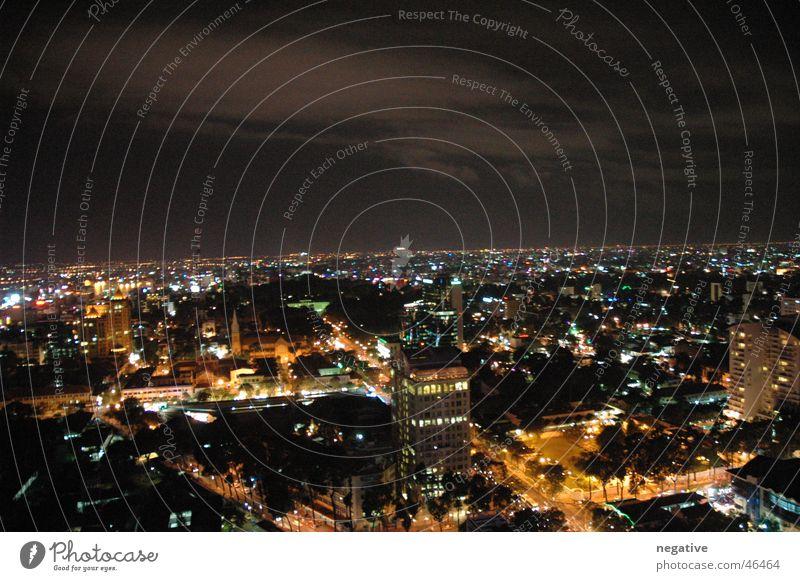 Ho Chi Minh City @ Night Stadt Skyline Stadtzentrum Nachtleben Vietnam Saigon