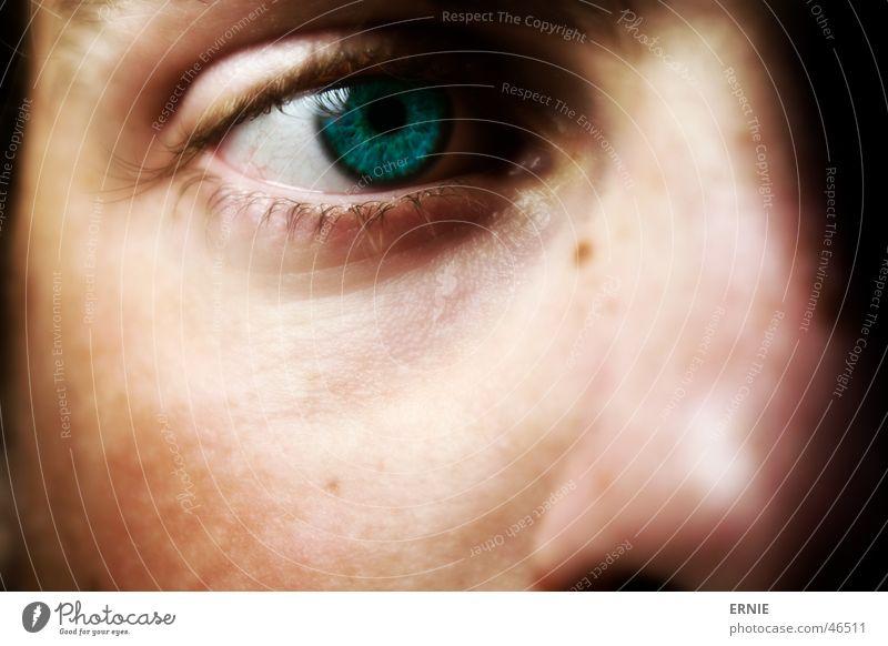 A Auge Nase Selbstportrait