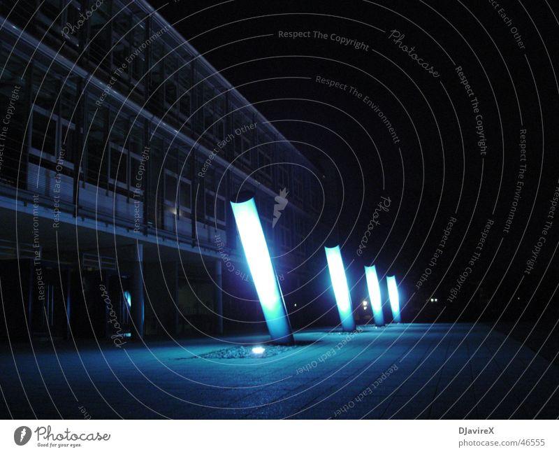 Lichtspiel Langzeitbelichtung Energiewirtschaft Architektur
