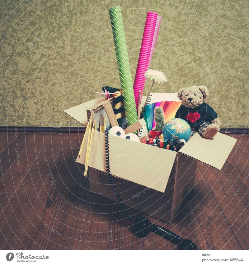 *2.500* Dropbox alt Wand lustig klein Freizeit & Hobby Lifestyle Design Dekoration & Verzierung Fröhlichkeit Dinge Kreativität Idee Zeichen Geschenk Kitsch