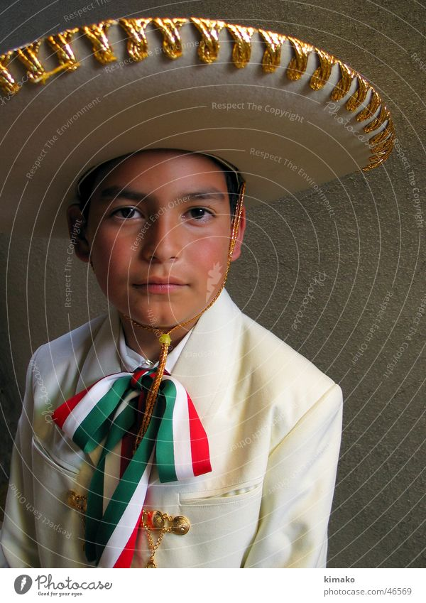 Viva! Charro Kind Mexiko folk boy child hat kimako Feste & Feiern mexican