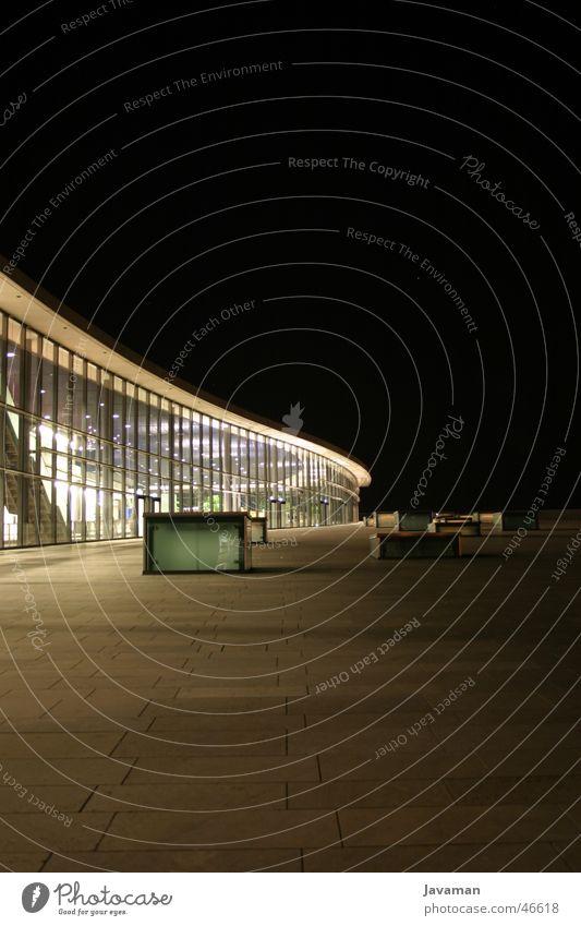 CCD at Night Dresden ccd congress centre modern Architektur