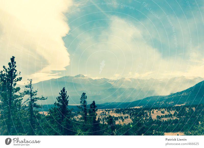 Mountain Sound Himmel Natur Ferien & Urlaub & Reisen Pflanze Baum Einsamkeit Landschaft Wolken Ferne Umwelt Berge u. Gebirge Freiheit Luft Park Wetter Tourismus