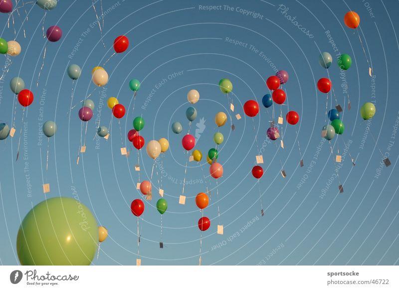 Himmelskörper Himmel Farbe Luftballon Sportveranstaltung